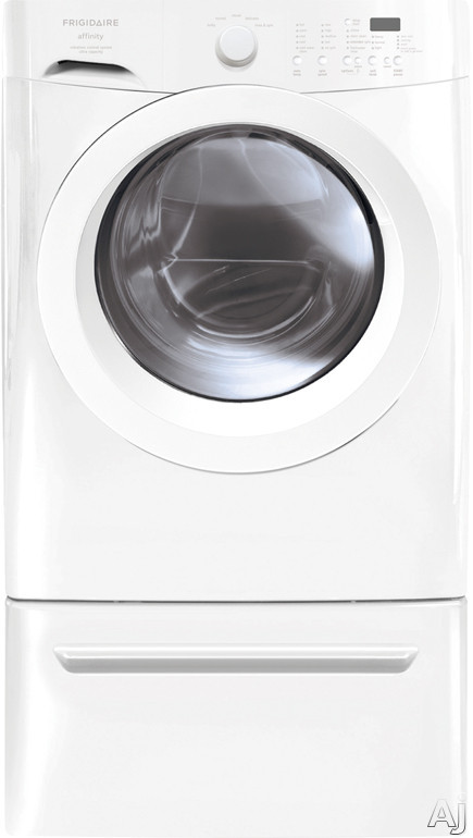 "Frigidaire Affinity Series FAFW3801LW 27"" Front-Load Washer with 3.26 cu. ft. Capacity, 5 Wash, U.S. & Canada FAFW3801LW"