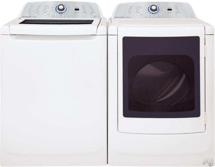"""Frigidaire Affinity Series FAHE4044MW 27"""" Top-Load Washer with 3.4 cu. ft. Capacity, 14 Wash Cycles, U.S. & Canada FAHE4044MW"""