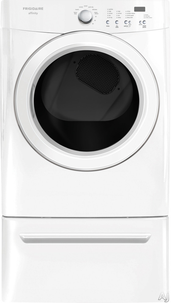 Frigidaire Fase7021nw 27 Quot Electric Dryer With 7 0 Cu Ft