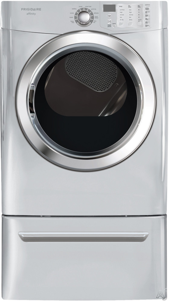 """Frigidaire Affinity Series FASG7073NA 27"""" Gas Dryer with 7.0 cu. ft. Capacity, 10 Dry Cycles, 25, U.S. & Canada FASG7073NA"""
