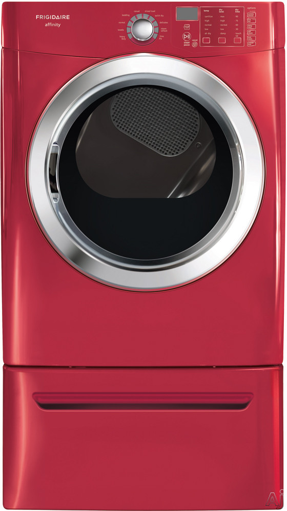 "Frigidaire Affinity Series FASE7073NR 27"" Electric Dryer with 7.0 cu. ft. Capacity, 10 Dry Cycles, U.S. & Canada FASE7073NR"
