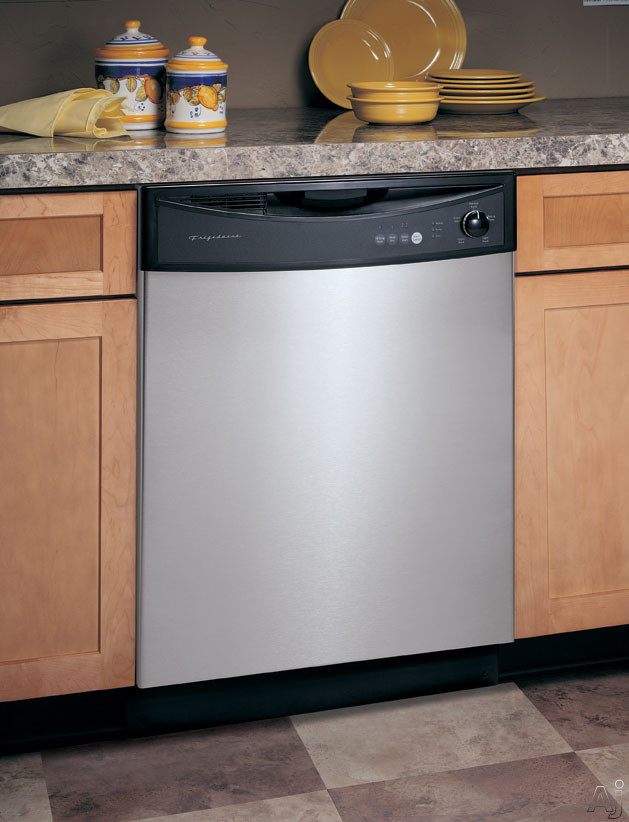 Frigidaire FDB1050REC Full Console Dishwasher With 5 Cycles Static Vent Drying & 5-Level Precision Wash System Stainless Steel