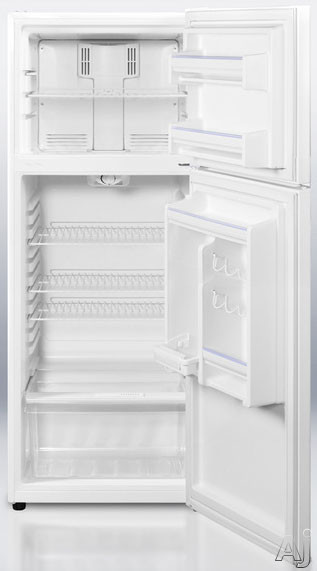 Summit ff1074 10 0 cu ft apartment top freezer for Apartment ice maker