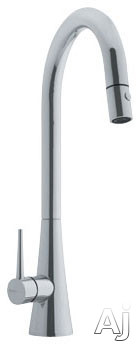 Franke Faucet Cartridge : Franke FF2580 High Arc Contemporary Kitchen Faucet with Dual Spray ...
