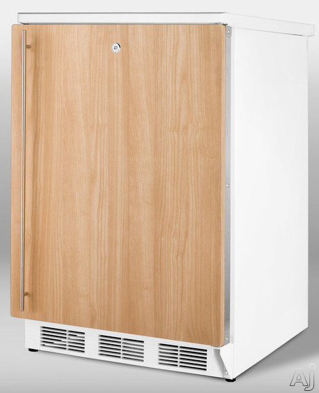 Summit CT67IF 5.1 cu. ft. Compact Refrigerator with Adjustable Glass Shelves, Door Storage, Manual, U.S. & Canada CT67IF