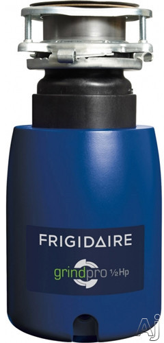 Frigidaire FFDI501CMS 1 2 HP Continuous Feed Waste Disposer with 2600 RPM High Torque GrindPro Magnet Motor Easy Fit Design Stainless Steel Grinding System Septic System Safe Disposer and Sound Guard
