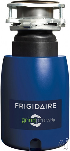 Frigidaire FFDI502DMS 1/2 HP Continuous Feed Waste Disposer with 2600 RPM High-Torque GrindPro Magnet Motor, Easy-Fit Design, Stainless Steel Grinding System, Splash Guard and 5 Year Limited Warranty