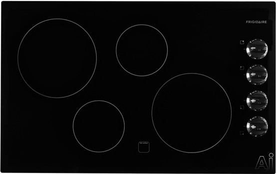 Frigidaire Ffec3225mb 32 Inch Electric Cooktop With 4
