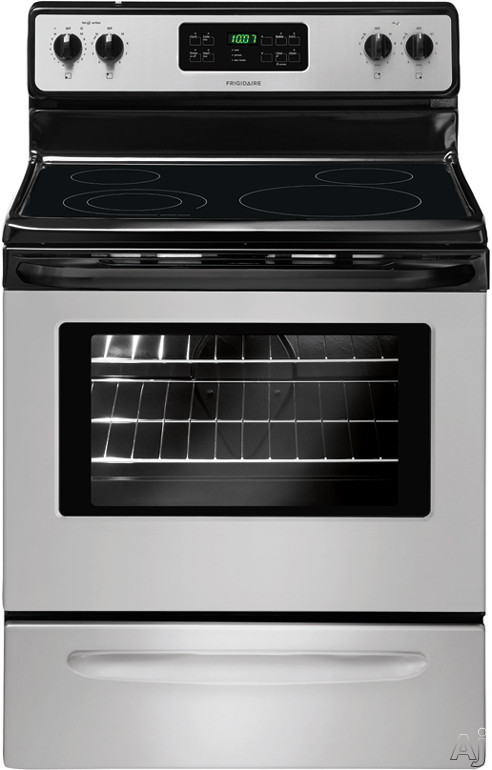 "Frigidaire FFEF3018L 30"" Freestanding Electric Range with 4 Radiant Elements, SpaceWise Expandable Element, Extra-Large Element, 5.3 cu. ft. Oven Capacity, Even Bake Technology and Store-More Storage Drawer"