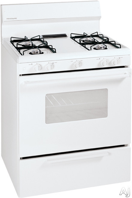 "Frigidaire FFGF3005MQ 30"" Freestanding Gas Range with 4 Open Burners, 4.2 cu. ft. Manual Clean Oven, U.S. & Canada FFGF3005MQ"