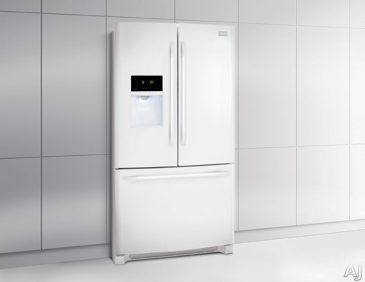 Frigidaire Ffhb2740pp 26 7 Cu Ft French Door Refrigerator With Adjustable Interior Storage