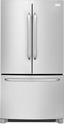 Frigidaire FFHN2740PS 26.7 cu. ft. French Door Refrigerator with 4 SpillSafe Glass Shelves, Energy, U.S. & Canada FFHN2740PS