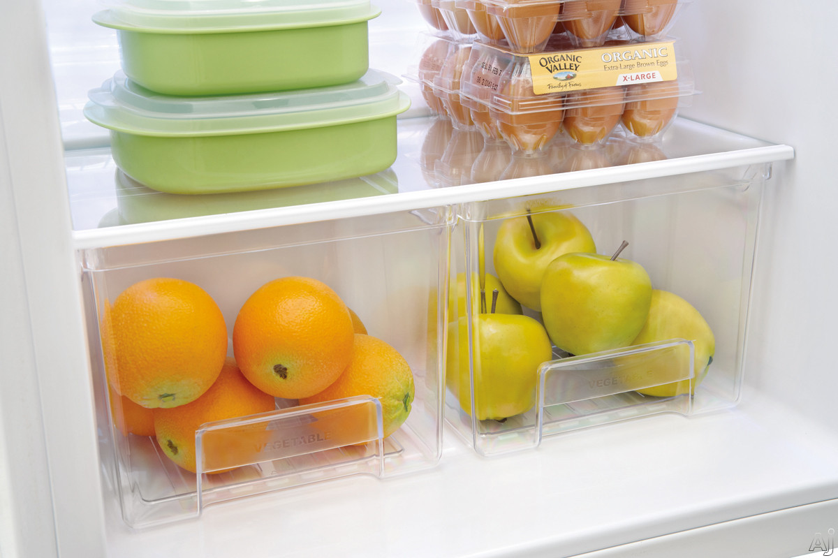 Store-More Clear Crisper Drawers