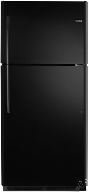 Frigidaire FFHT2126PB 20.6 cu. ft. Top-Freezer Refrigerator with SpillSafe Adjustable Glass Shelves, U.S. & Canada FFHT2126PB