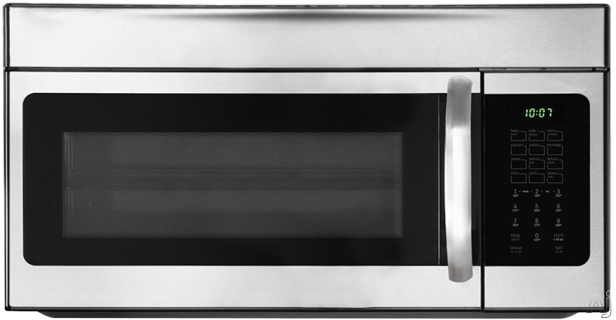 Frigidaire FFMV154CLS 1.5 cu. ft. Over the Range Microwave Oven with 900 Cooking Watts, Bake / Brown, U.S. & Canada FFMV154CLS