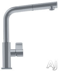 Franke FFPS1180 Single Lever Pull Out Faucet with 8 1 / 2 in. Reach, Dual-Jet Spray and AB1953 /, U.S. & Canada FFPS1180