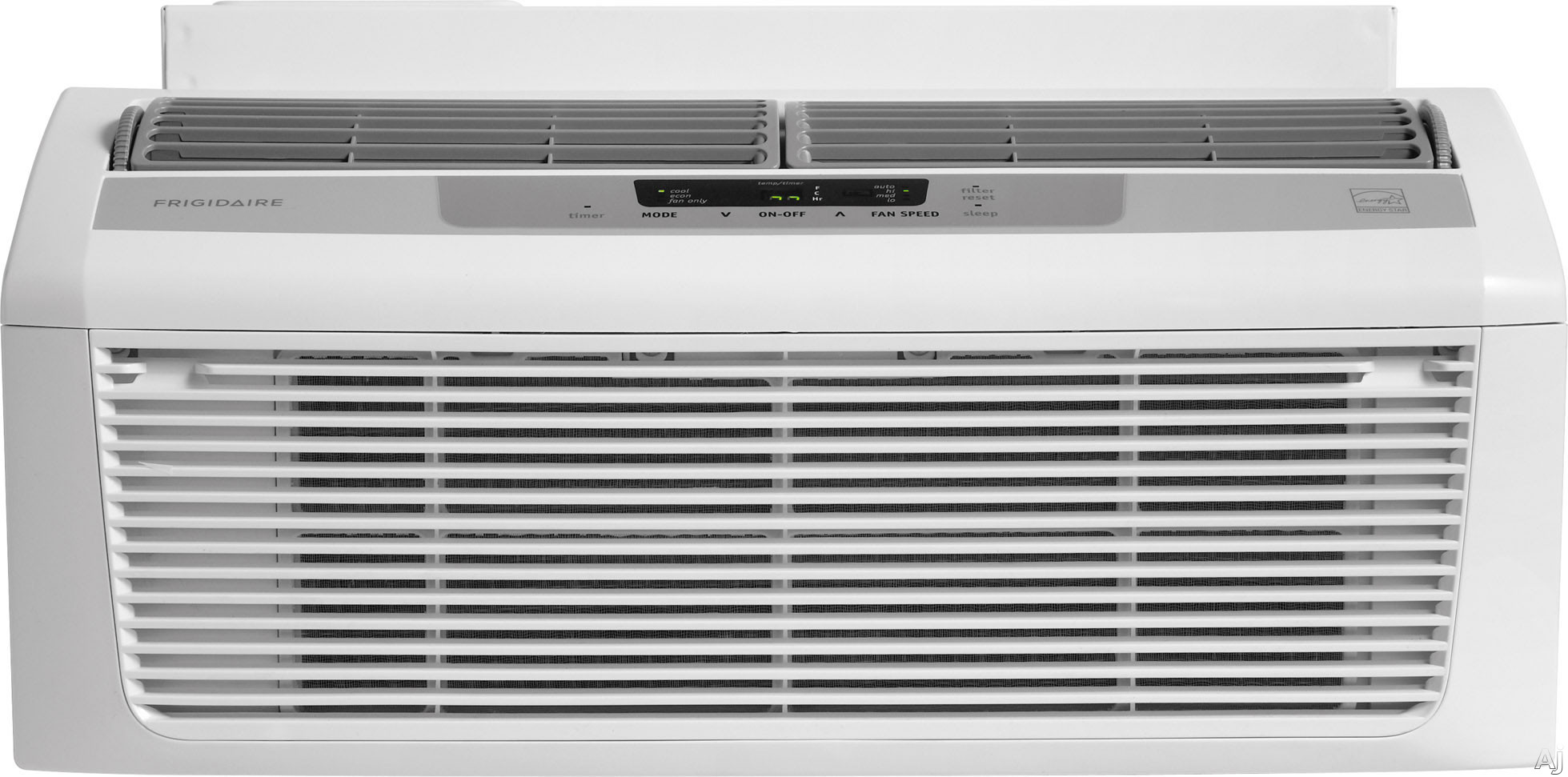 Frigidaire FFRL0633Q1 6,000 BTU Low Profile Window Air Conditioner with 11.2 EER, R-410A Refrigerant, 1.3 Pts/Hr Dehumidification, 250 sq. ft. Cooling Area, Energy Saver and Remote Control FFRL0633Q1