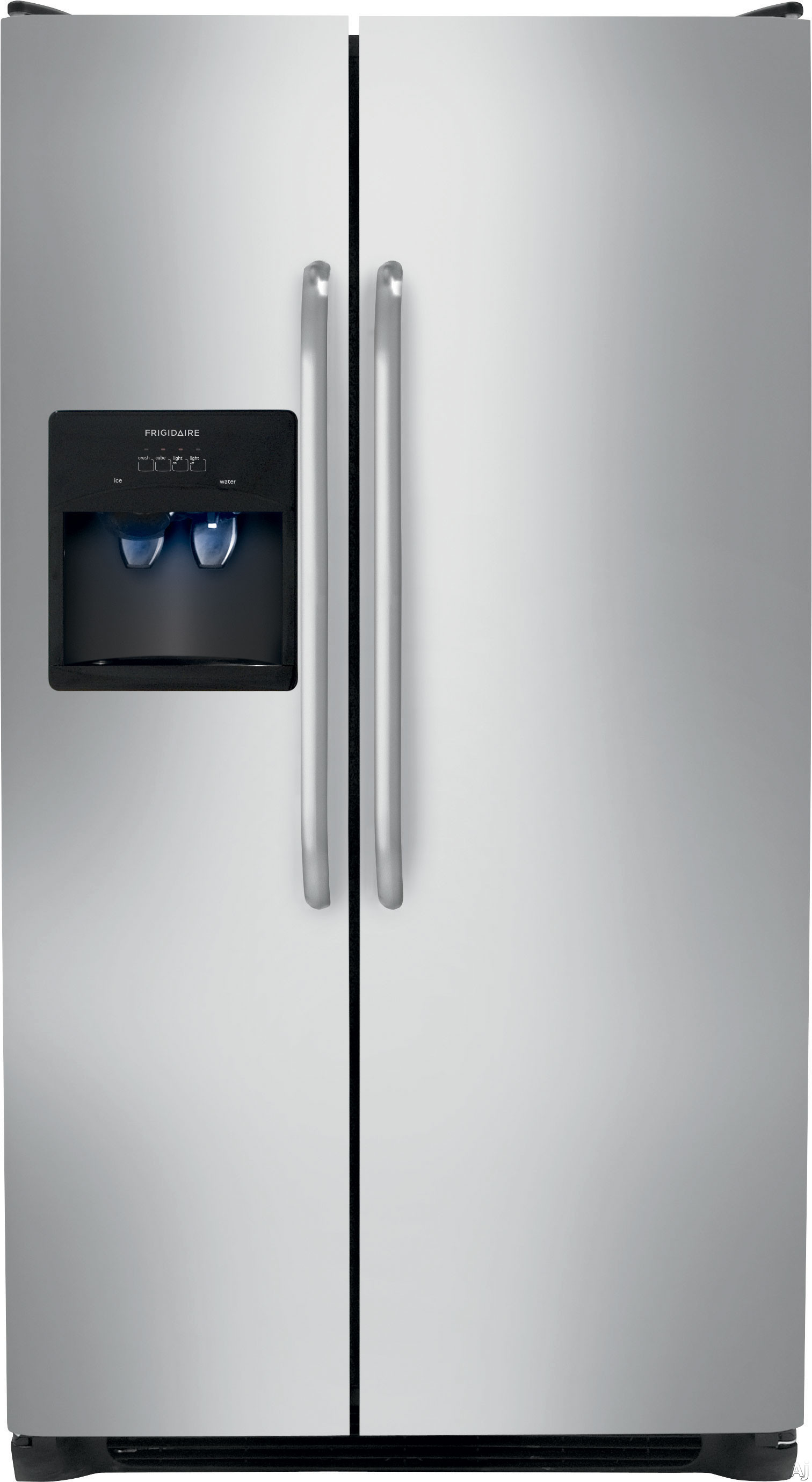 Frigidaire Ffss2614qs 26 0 Cu Ft Side By Side