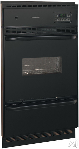 "Frigidaire FGB24L2AB 24"" Single Gas Wall Oven with Manual Clean & Electronic Ignition: Black, U.S. & Canada FGB24L2AB"