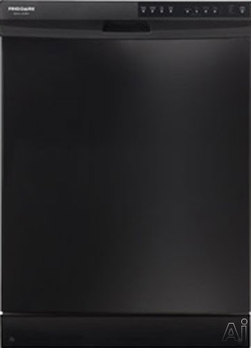 Frigidaire Gallery Series FGBD2434PB Full Console Dishwasher with 14-Place Settings, 4 Wash Cycles, U.S. & Canada FGBD2434PB