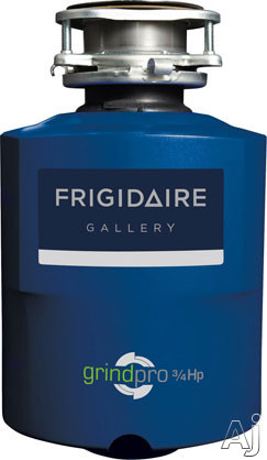 Frigidaire Gallery Series FGDI753DMS 3/4 Horsepower Continuous Feed Waste Disposer with 2700 RPM High Torque GrindPro Magnet Motor, Easy Fit Design and Splash Guard