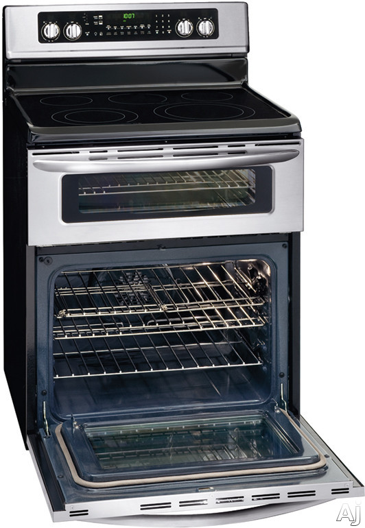 Electric Oven Open ~ Frigidaire fgef dkf quot freestanding electric double
