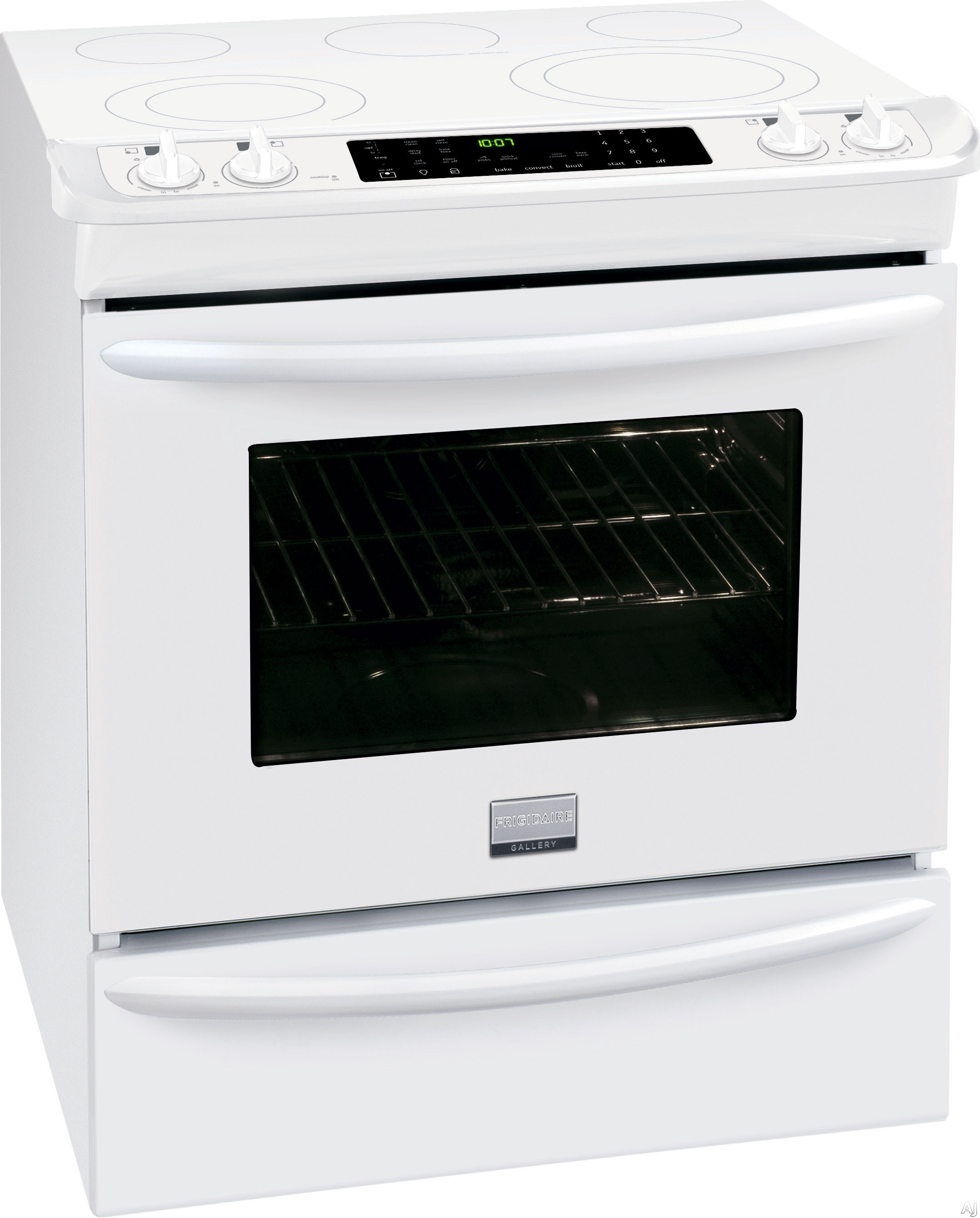 Frigidaire Fges3065pw 30 Quot Slide In Smoothtop Electric