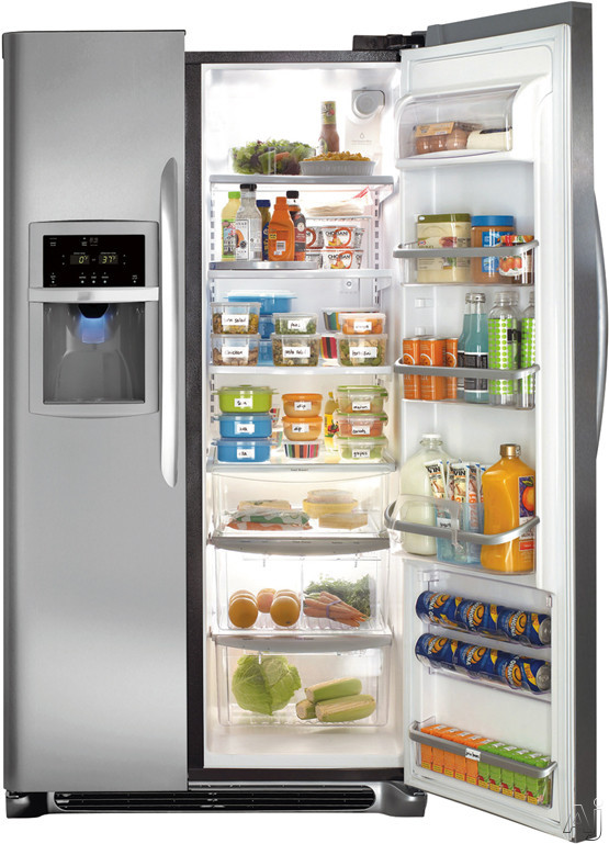 Shown with Fridge Door Open