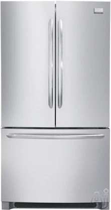Frigidaire Gallery Series FGHN2866P 36 Inch French Door Refrigerator with 27.7 cu. ft Capacity, Adjustable SpillSafe Shelves, Gallon Storage, Quick Freeze, Air and Water Filter, Star-K Certified Sabbath Mode and ENERGY STAR FGHN2866P