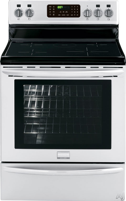 "Frigidaire Gallery Series FGIF3061NF 30"" Freestanding Induction Range with 5 Induction Elements, 5.4 cu. ft. True Convection Oven, Self Clean, Quick Preheat, Auto Keep Warm and Temperature Probe"