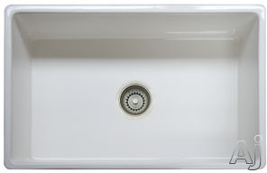 "Franke Farmhouse Series FHK71030LN 30"" Single Bowl Apron Front Fireclay Sink: Linen, U.S. & Canada FHK71030LN"
