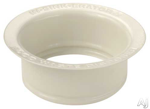 InSinkErator FLGBIS Custom Sink Flange: Bisque