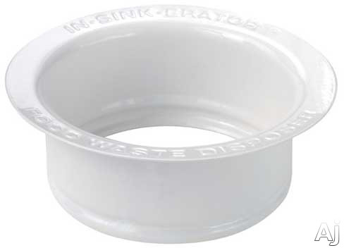 InSinkErator FLGWH Custom Sink Flange: White