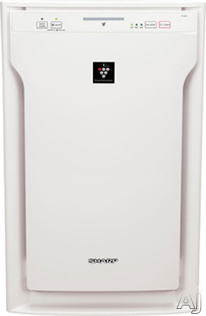 Sharp Plasmacluster Series FPA60UW 254 CFM Air Purifier with Active Carbon Pre-Filter, Plasmacluster Air Purification System, True HEPA Filter, Energy Star Qualified, Library Quiet Design and Manual or Automatic Operation FPA60UW