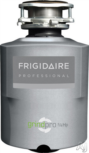 Frigidaire Professional Series FPDI758DMS 3/4 HP Continuous Feed Waste Disposer with 2700 RPM High-Torque GrindPro Magnet Motor, Easy-Fit Design, Stainless Steel Grinding System and Splash Guard