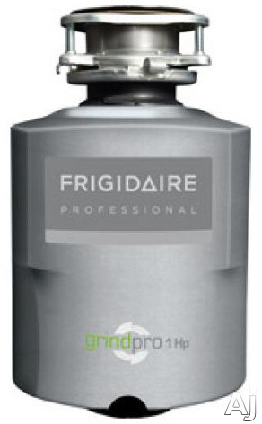 Frigidaire Professional Series FPDI103DMS 1 HP Continuous Feed Waste Disposer with 2800 RPM High-Torque GrindPro Magnet Motor, Easy-Fit Design, Stainless Steel Grinding System and UltraQuiet III Sound Guard