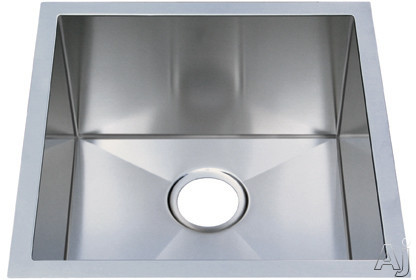 16 Gauge 304 Stainless Steel Single Bowl Undermount Sink