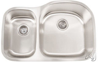 18 Gauge 304 Stainless Steel Double Bowl Undermount Sink