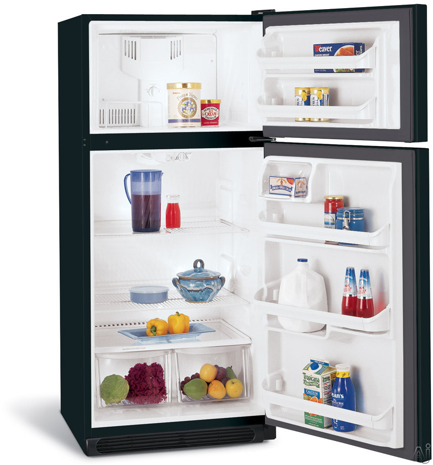 Frigidaire Freezers - Frigidaire FRT18B5JB 18.2 Cu Ft Top-Freezer  Refrigerator With 2 Sliding Wire