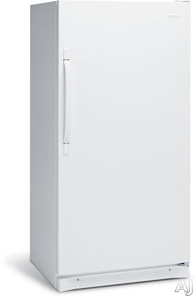 Frigidaire FRU17G4JW 16.7 cu. ft. Freestanding All Refrigerator with 2 Glass Shelves, 1 Fixed Wire, U.S. & Canada FRU17G4JW
