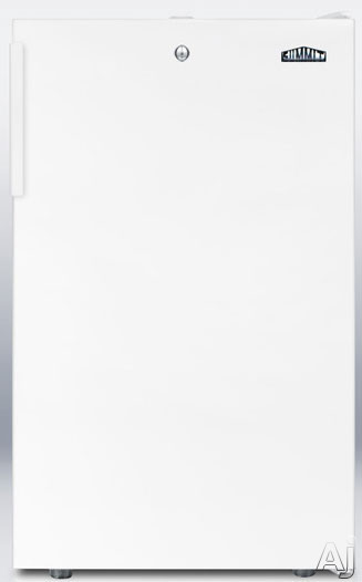 Picture of AccuCold FS407LBI 20 Inch Undercounter Freezer with 28 cu ft Capacity 4 Pull-Out Drawers Manual Defrost -20- Capable and Factory Installed Lock White