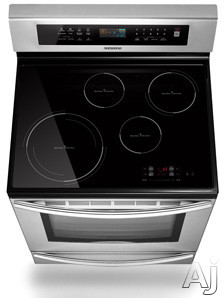 Samsung Ftq307nwgx 30 Freestanding Induction Range With 4