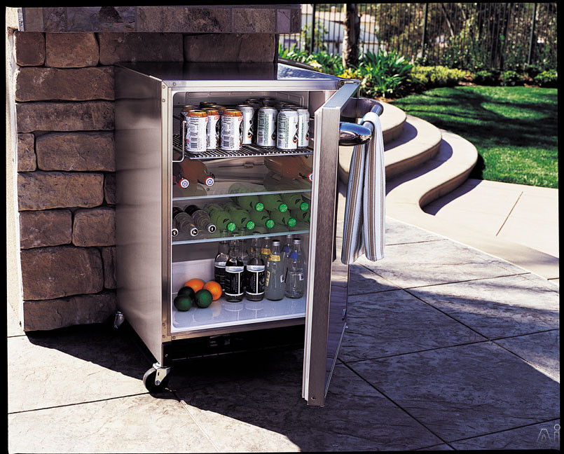 Dcs Rf24re2 24 Quot Outdoor Refrigerator With 6 1 Cu Ft