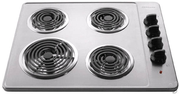 26-in. Electric Cooktop-Stainless Steel