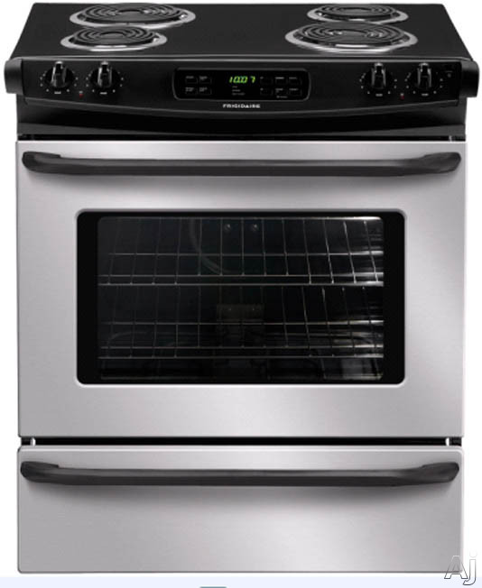 30-in. Slide-In Electric Range-Stainless Steel