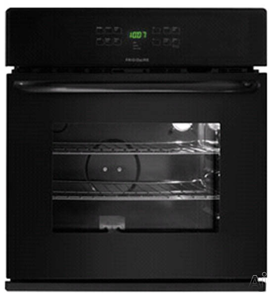 30-in. Single Electric Wall Oven-Black