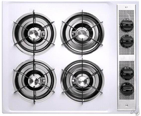26-in. Gas Cooktop-White