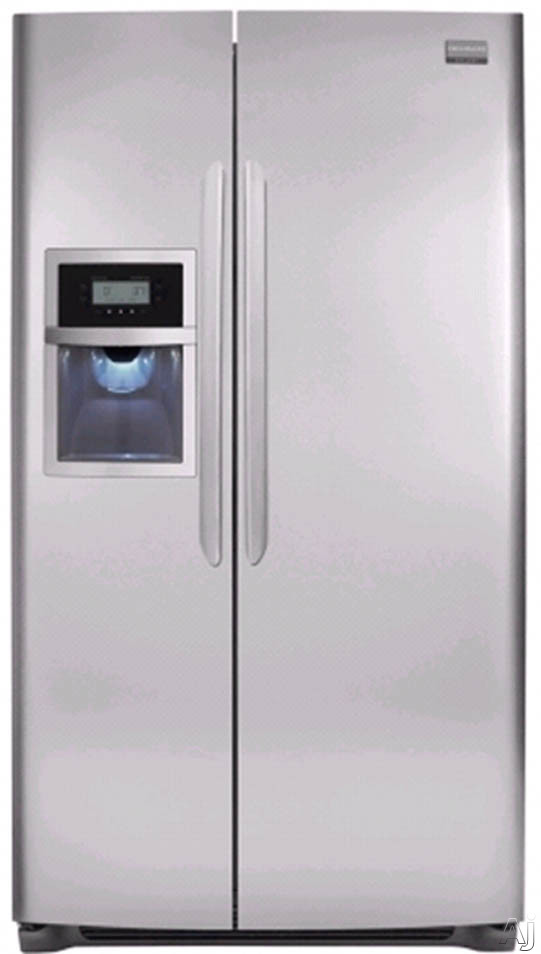 Frigidaire Gallery Series FGHC2345LF 22. 6 cu. ft. Counter-Depth Side By Side Refrigerator with 3, U.S. & Canada FGHC2345LF