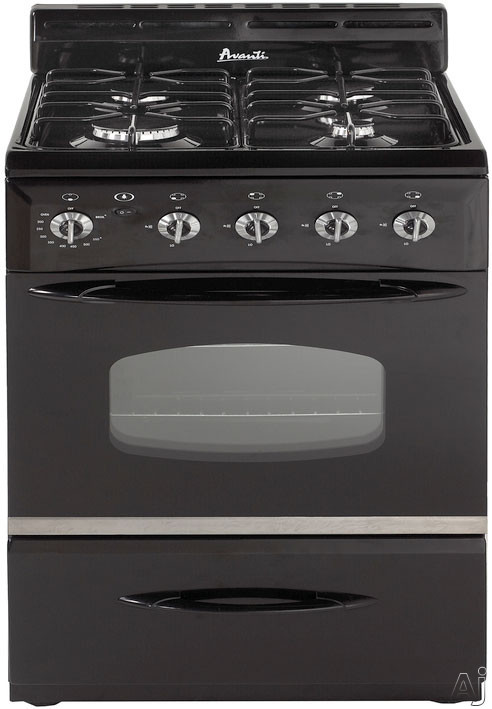 Avanti g2404 24 freestanding gas range with 4 sealed for What is the bottom drawer of an oven for