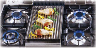 Ilve G41903 Stainless Steel Gas Barbecue Grill